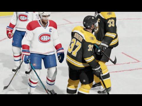 NHL 15 Gameplay (Xbox One): Bruins vs Canadiens - (Full Game)