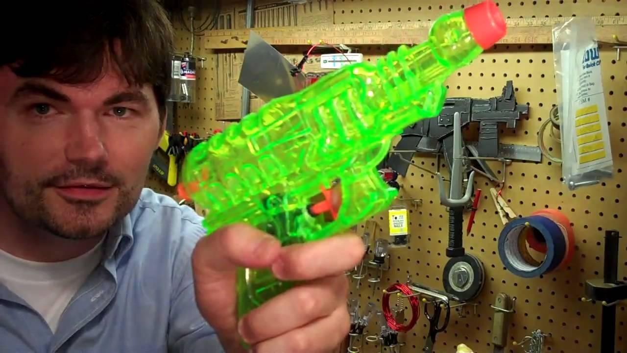 How to Make a Ray Gun Prop You Wanna Make a Space Ray Gun
