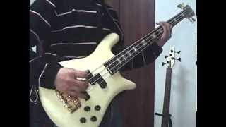 AEROSMITH -Eat The Rich- Bass cover