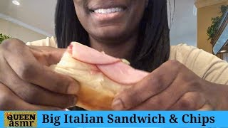Queen ASMR - Jimmy Johns Italian Nightclub with Salt/Vinegar Chips With WaWa Coffee