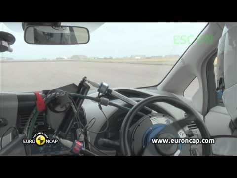 Euro NCAP | Nissan LEAF | 2011 | Электронный контроль устойчивости