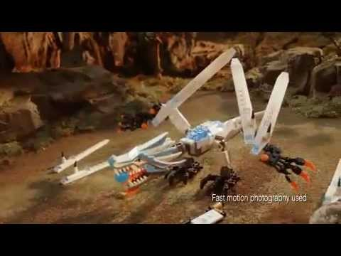 LEGO Ninjago commercial (2011) - 2263 Turbo Shredder vs 2260 Ice Dragon Attack