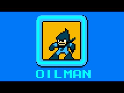Mega Man Powered Up - Oil Man theme in 8-bit