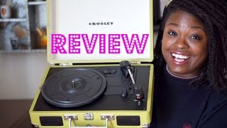 I bought a Record Player! | Crosley Cruiser Review | 87PAGES