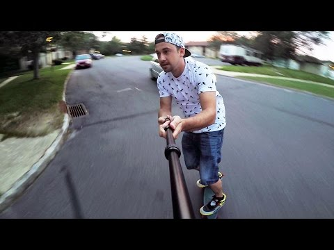 Pan and Tilt GoPro Selfie Stick - MicroJib Review
