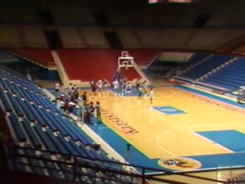 Patrick Sturgeon Reporter Channel 6 Lawrence, KU Basketball Feature Jan 1987
