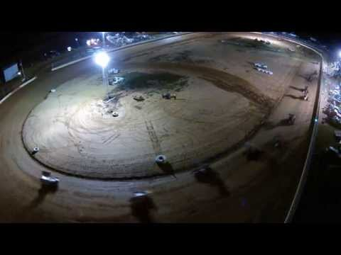 Trail-Way Speedway 358 Sprint Car Highlights 7-25-14