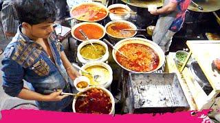 Non-Veg INDIAN Street Food HEAVEN in Bhatiyar Gali   Ahmedabad, India