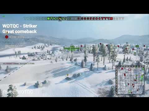 WOTQC - Strik3R00 - World of Tanks Xbox - Full match with WOTQC clan
