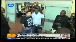 News: Akon in the country
