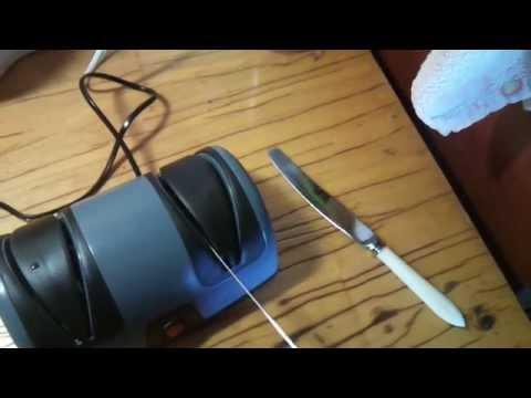 Electric knife sharpener Smile KS 802 (электрическая точилка для ножей