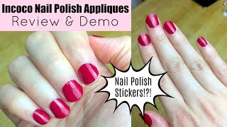 Beauty Hack - Nail Polish Stickers! | Incoco Review & Demo