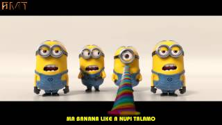 [Engsub] Despicable Me 2 - Minions Banana Song