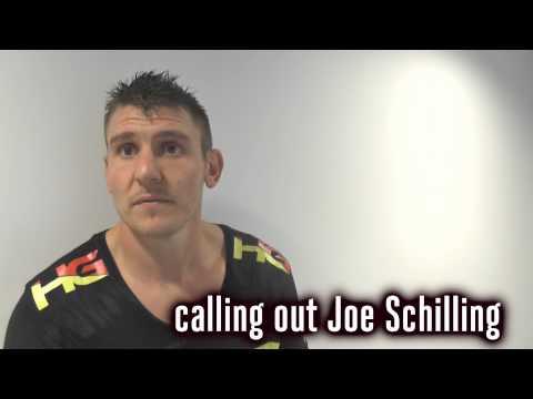 GLORY 22 FRANCE Post-Fight: Filip Verlinden wants Joe Schilling next