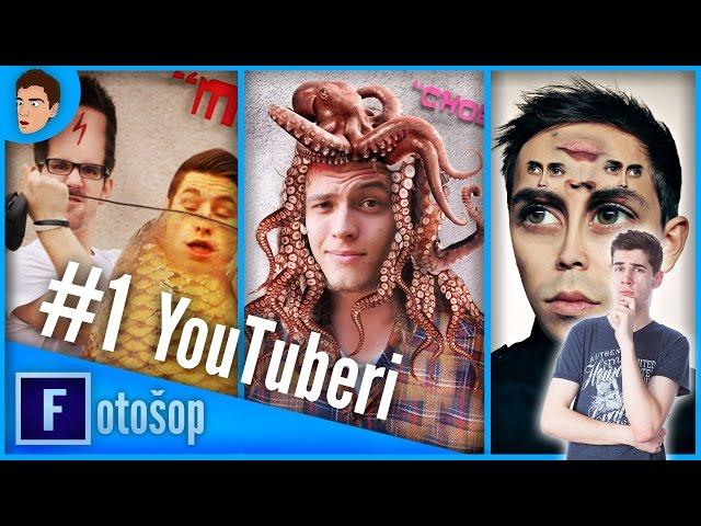 #Fotošop - ep 1.YouTuberi   GoGoManTV