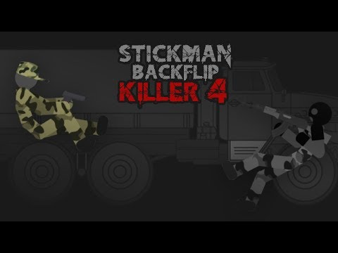 Stickman Backflip Killer 4 APK Cover