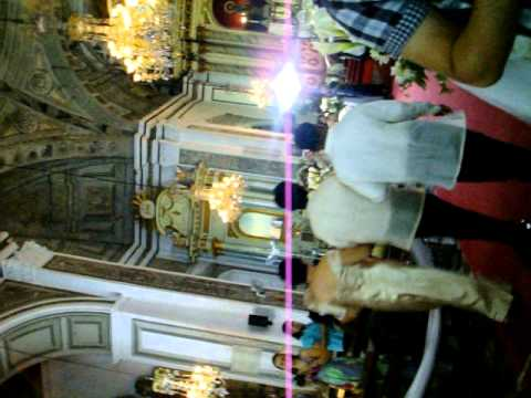 Erwin Marching at San Agustin Church.mov