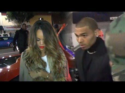 Rihanna And Chris Brown Party Together After The Grammys
