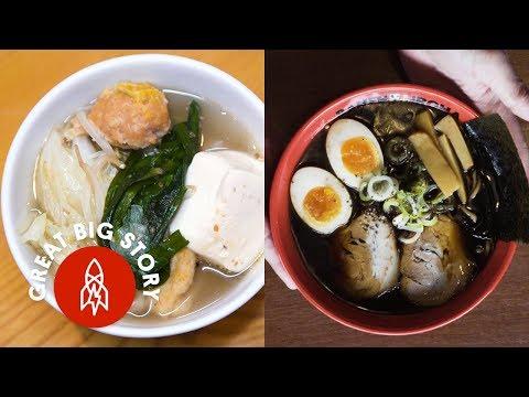 Eating Noodles Across Japan