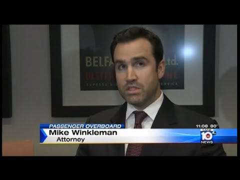 Michael Winkleman, Maritime Attorney: Channel 10 News Covers Oasis of the Seas Incident