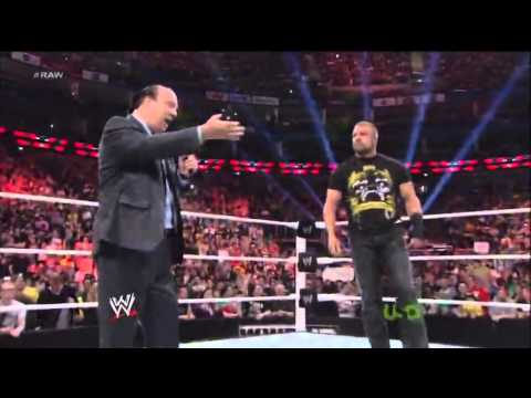 Triple H Teaches Paul Heyman a Lesson For Running His Mouth
