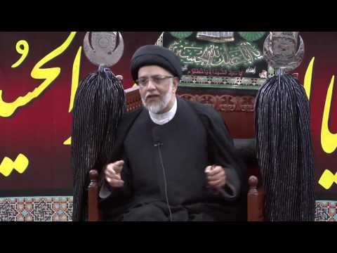 9th Night Of Muharram - Syed Mohammed Naqvi - 9th Muharram 1438