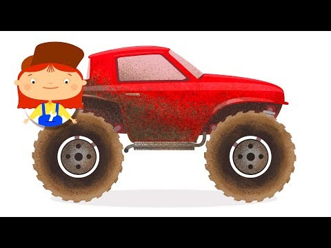 Monster truck cartoon 🚚  SUV truck! 🚚 Cars cartoons & trucks cartoons for children