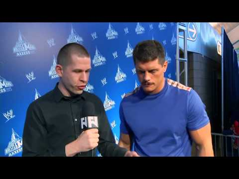 WrestleMania 29 Cody Rhodes with John Pollock