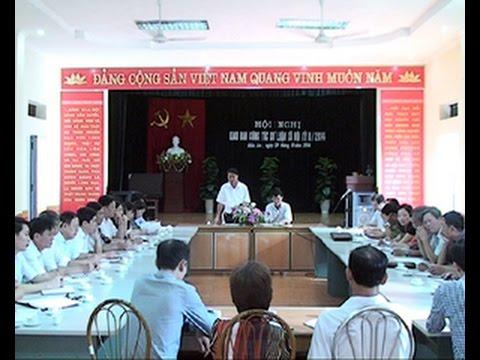 Hội nghị giao ban công tác dư luận xã hội kỳ 2 năm 2014