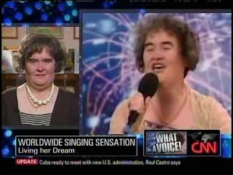 Larry King Live (Interviews Susan Boyle and Piers Morgan ) of Britains Got Talent-4-17-09.Part-1of2 Video