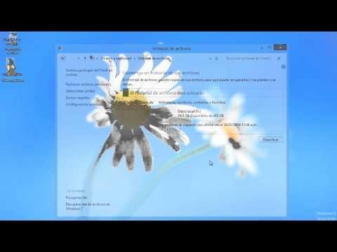 Cómo recuperar archivos borrados con el Historial de Archivos en Windows 8