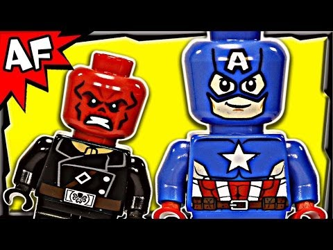 CAPTAIN AMERICA vs HYDRA 76017 Lego Marvel Super Heroes Animated Building Review