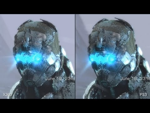 Dead Space 3 Xbox 360 vs. PS3 Comparison Video