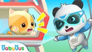 Super Panda's Ferris Wheel Rescue Mission | Nursery Rhymes | Kids Songs | Panda Cartoon | BabyBus