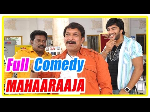 Maharaja Tamil Movie | Comedy Scenes | Nassar | Sathya | Anjali | Karunas | Saranya