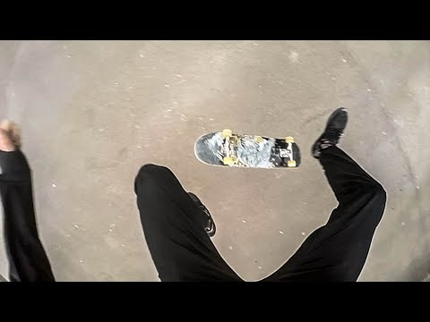 Go Pro: Point of view skateboarding 240fps - Ellis Frost