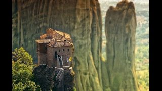Tourist attractions - Christian tourism in Europe: Meteora, Greece