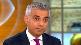 London Mayor Sadiq Khan on NYC bombing, Trump's stances