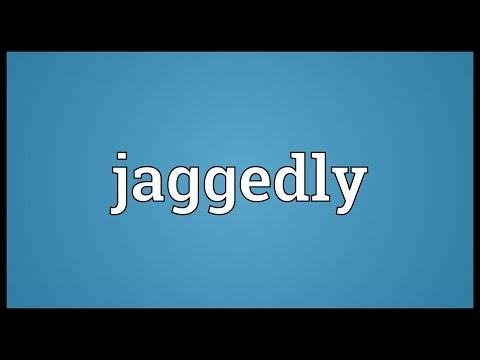 Header of jaggedly
