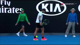 Nadal vs Alexander Zverev - Australian Open 2017 R3 ( Highlights HD 720p60)