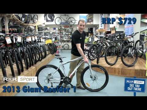 2013 Giant Boulder 1 29er Mountain Bike Review