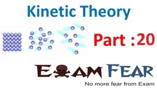 Physics Kinetic Theory part 20 Translation degree of Freedom CBSE class 11