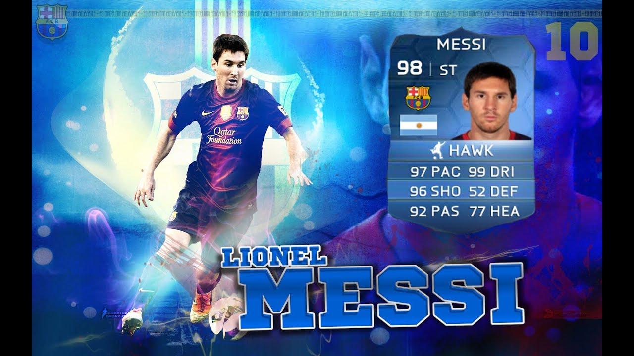 Messi Fifa 14 Card FIFA 14 - Maste...