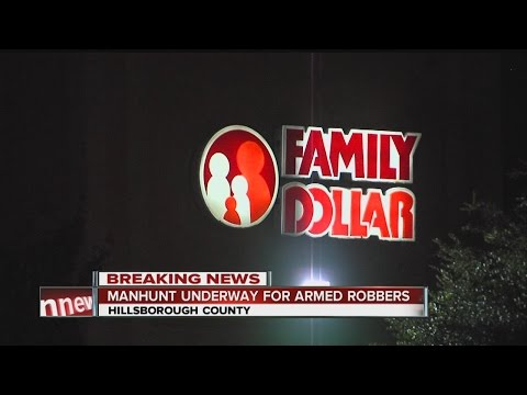 Shot fired during Family Dollar robbery