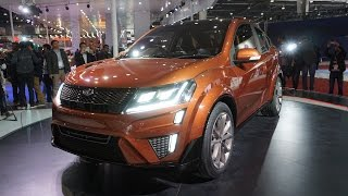 Mahindra XUV Aero Concept - Press Conference and Video