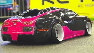 MEGA RC DRIFT CAR RACE MODEL SHOW!! RC BUGATTI VEYRON*RC BMW*RC TOYOTA*RC HONDA