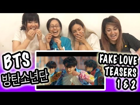[KPOP REACTION] BTS 방탄소년단 -- FAKE LOVE OFFICIAL TEASER 1 & 2