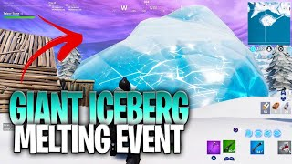Live In-Game Footage of the Bunker Reveal after the IceBerg Melted! (Fortnite Bunker Event)
