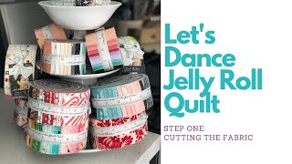 Let's Dance Quilt Pattern: Step One