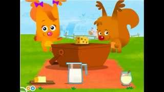 Dairy education activity and song for children full Educational video